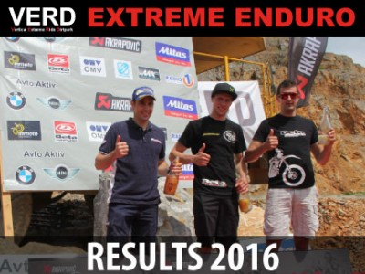VERD EXTREME ENDURO 2016 - RESULTS